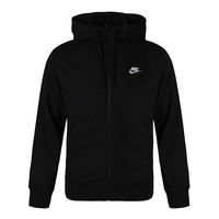 Nike耐克 男装 新款男子AS M NSW CLUB HOODIE FZ夹克BV2649-010